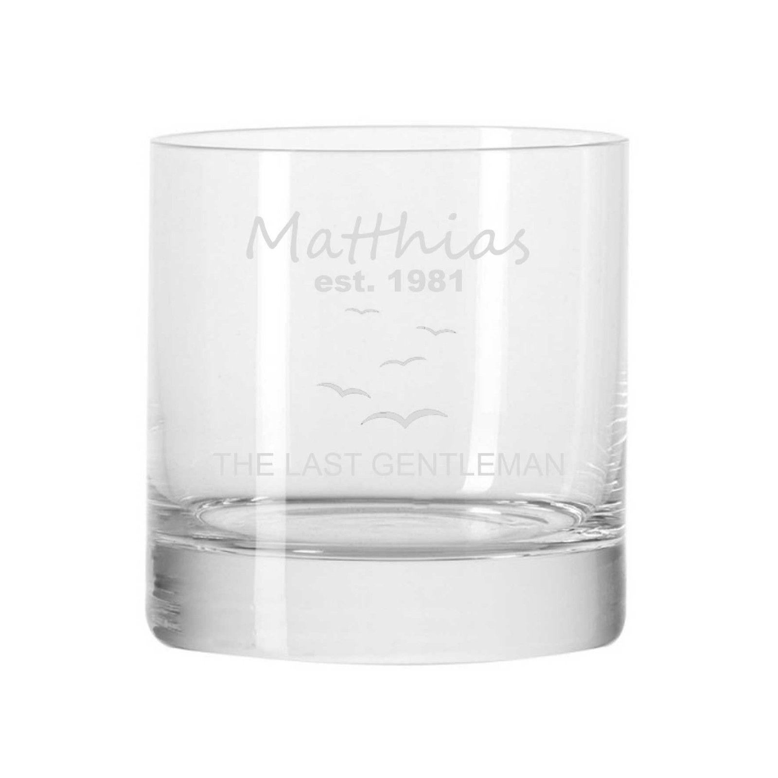 Whisky Glas Whiskyglas DOF 400ml Bar von LEONARDO mit Gravur